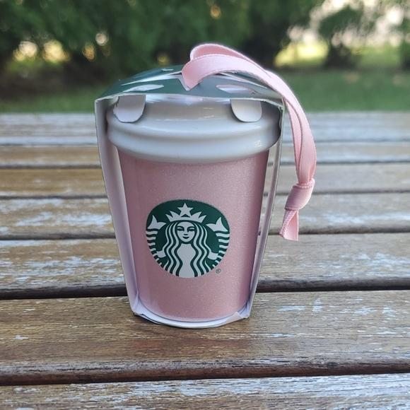 Starbucks Pink Glitter Christmas Ornament …